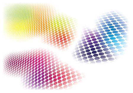 Abstract Color Background. Vector Background Collection. Vector