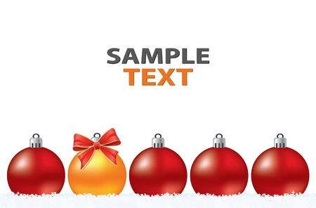 Christmas creative abstract greeting card. Vector christmas collection. Illustration
