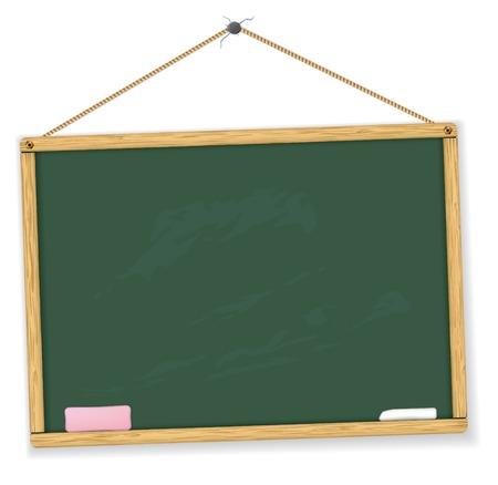 planche: tableau noir. Tr�s d�taill�es. Facile � modifier. Education collection.