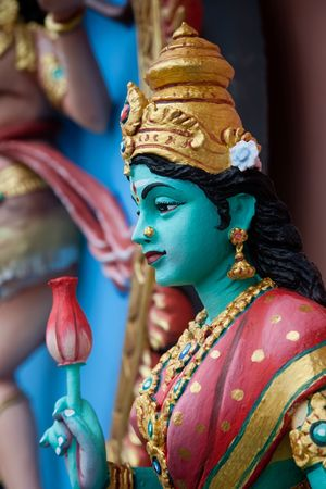 divinity: One of the indian divinity. Penang collection. Stock Photo