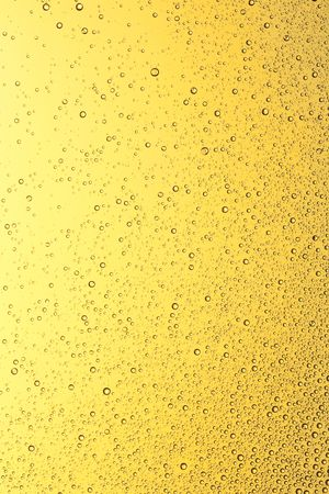 Golden water drops on the window. Water collection. Stok Fotoğraf