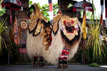 The Barong Dance of Bali Indonesia