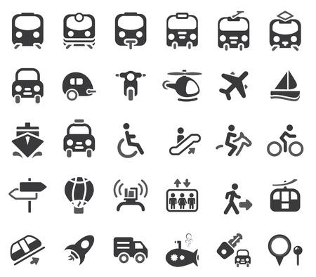 transporte: Ajuste de transporte icono de