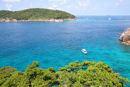 similan islands: Aerial View of Similan Islands, Thailand