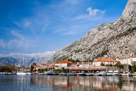Kotor bay, UNESCO heritage site, Montenegro, Europe photo