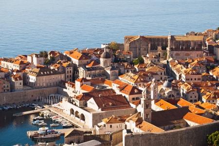 dalmation: Croatia, Dalmation Coast, Dubrovnik, Old Town by Adriatic Sea