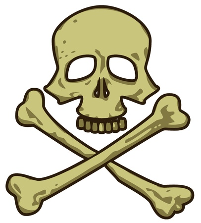 Skull  Pirate Sign  Marine Vector Collection Stock Vector - 16399572