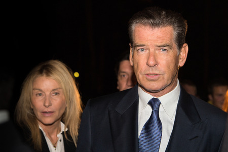 press agent: MOSCOW, RUSSIA, September, 10: Actor Pierce Brosnan. Premiere of the movie THE NOVEMBER MAN, September, 10, 2014 at Barvikha Luxury Village in Moscow, Russia