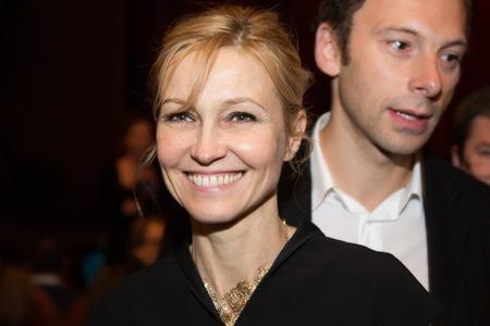 context: MOSCOW - NOVEMBER, 26: Actress I. Dapkunaite. Festival of  Contemporary choreography Context. Diana Vishneva at The Theatre of Mossovet. November 26, 2014 in Moscow, Russia