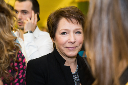 context: MOSCOW - NOVEMBER, 26: Tatyana Yumasheva. Festival of Contemporary choreography Context. Diana Vishneva at The Theatre of Mossovet. November 26, 2014 in Moscow, Russia Editorial