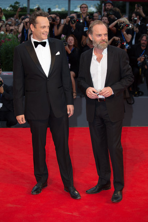 premiere: Hugo Weaving, Vince Vaughn  at the premiere of Hacksaw Ridge at the 2016 Venice Film Festival. September 4, 2016  Venice, Italy