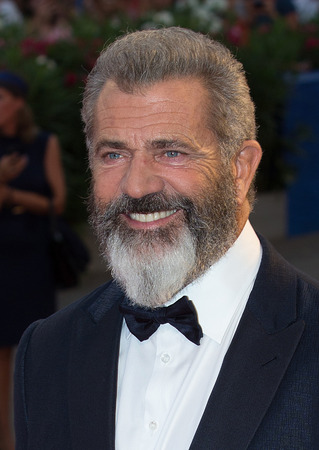 gibson: Mel Gibson  at the premiere of Hacksaw Ridge at the 2016 Venice Film Festival. September 4, 2016  Venice, Italy Editorial