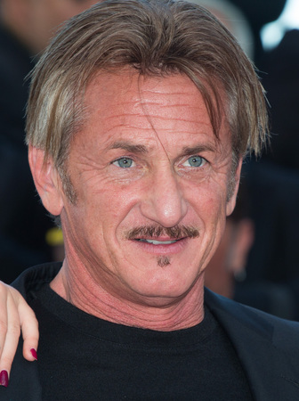 CANNES, FRANCE - MAY 20: Sean Penn attends the The Last Face premiere. 69th annual Cannes Film Festival at the Palais des Festivals on May 20, 2016 in Cannes Editorial