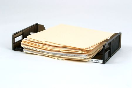 drudgery: Office in box Stock Photo