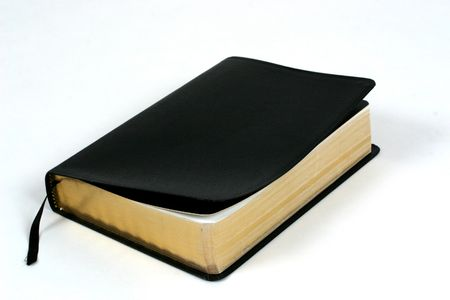 gospels: Closed bible, book