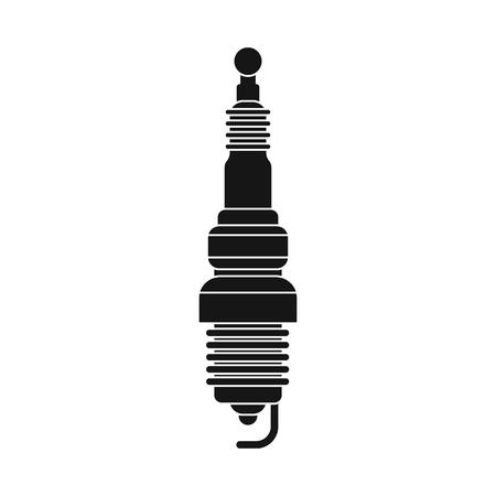 Conception de vecteur d'auto et de symbole de pièce. Collection d'illustration vectorielle stock auto et voiture.