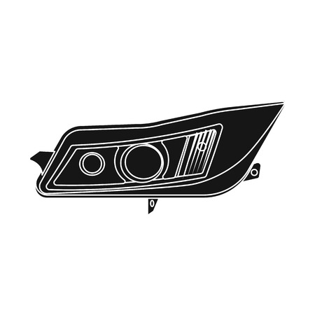 Vector design of auto and part logo. Set of auto and car stock vector illustration. 矢量图像