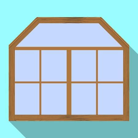 Vector design of door and front logo. Set of door and wooden vector icon for stock.