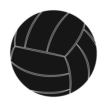 Vector illustration of sport and ball logo. Set of sport and athletic stock vector illustration.