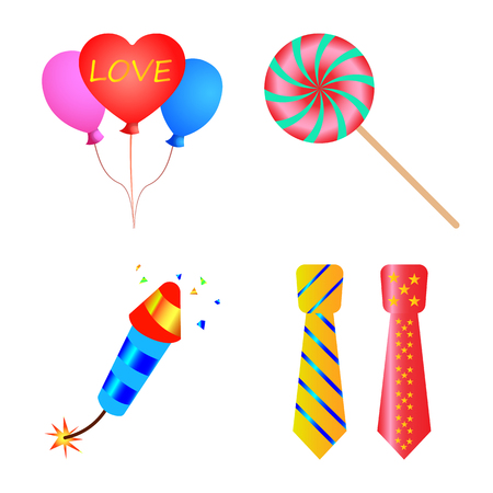 bitmap illustration of party and birthday icon. Collection of party and celebration stock bitmap illustration.