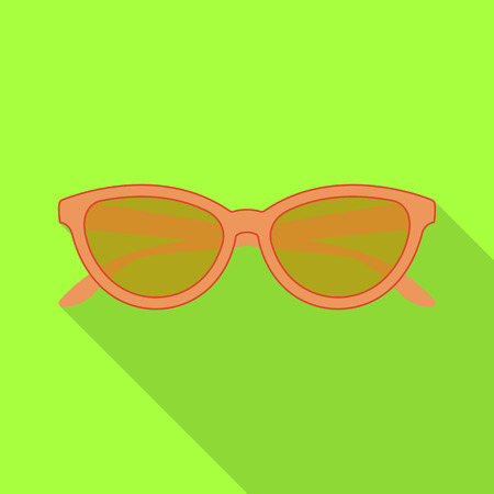 bitmap design of glasses and sunglasses logo. Collection of glasses and accessory stock symbol for web. Stock Photo