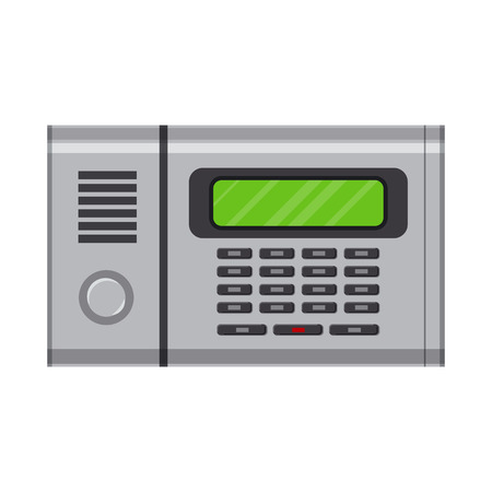 Isolated object of office and house logo. Collection of office and system bitmap icon for stock.