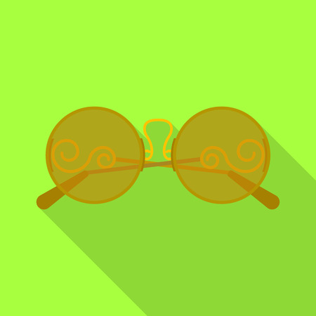 bitmap illustration of glasses and sunglasses sign. Set of glasses and accessory stock symbol for web.