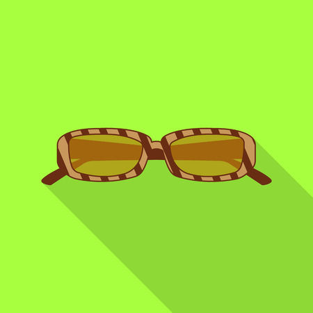 bitmap illustration of glasses and sunglasses logo. Collection of glasses and accessory stock symbol for web.