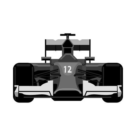Vector illustration of car and rally symbol. Set of car and race stock symbol for web. 写真素材 - 112281767