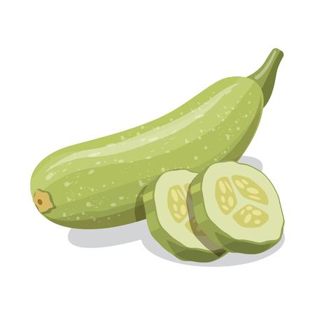 Projekt wektor ikona warzyw i owoców. Zbiór warzyw i wegetariańskich ilustracji wektorowych.