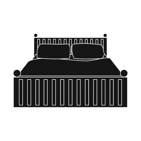 Isolated object of dreams and night logo. Set of dreams and bedroom stock symbol for web. Illustration