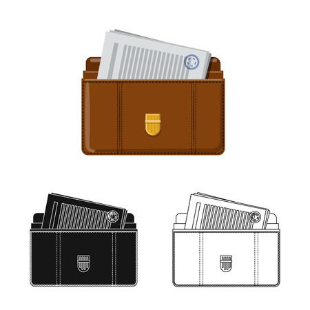 Vector illustration of law and lawyer icon. Collection of law and justice vector icon for stock.