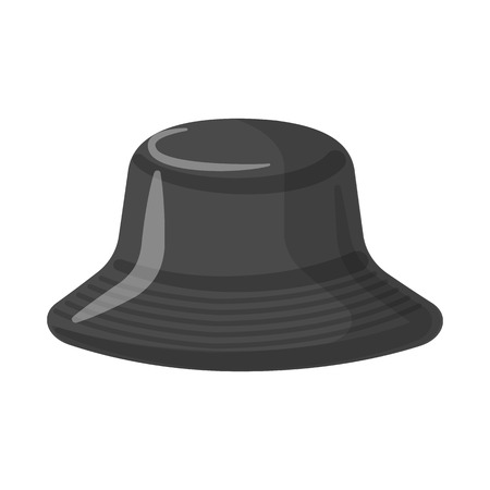 Isolated object of headgear and cap logo. Set of headgear and accessory vector icon for stock.