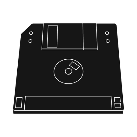 Isolated object of laptop and device icon. Collection of laptop and server vector icon for stock. Illustration