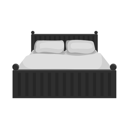 Isolated object of dreams and night sign. Set of dreams and bedroom vector icon for stock.
