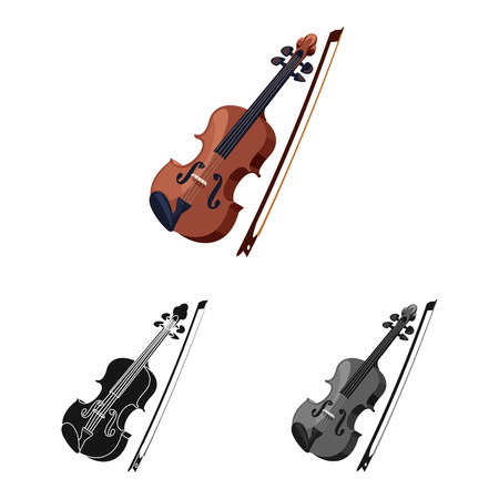 Vector illustration of music and tune logo. Set of music and tool vector icon for stock. Banque d'images - 114157663