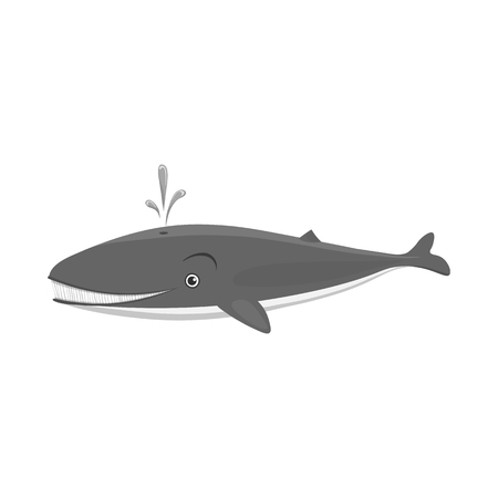 Vector illustration of sea and animal logo. Collection of sea and marine vector icon for stock. Stock Vector - 114159117