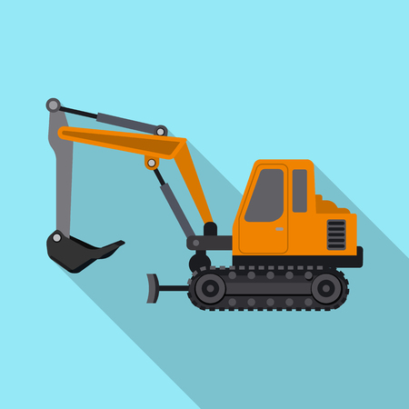 Vector illustration of build and construction logo. Set of build and machinery stock vector illustration. Illustration