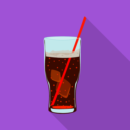 Vector illustration of drink and bar icon. Collection of drink and party vector icon for stock.