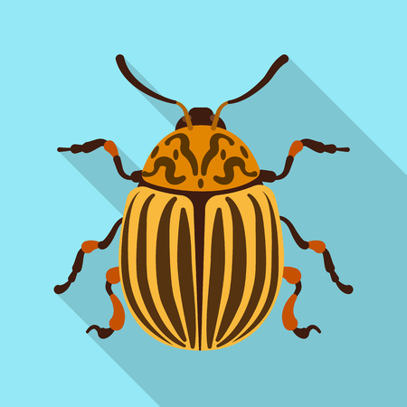 Isolated object of insect and fly sign. Set of insect and element stock vector illustration. Banque d'images - 115458784