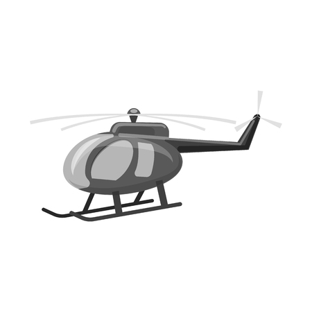 Isolated object of plane and transport symbol. Collection of plane and sky vector icon for stock. Illustration