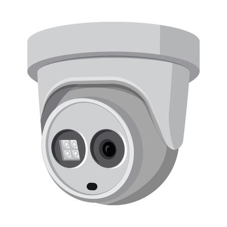 Vector illustration of cctv and camera icon. Set of cctv and system stock vector illustration. Vector Illustration