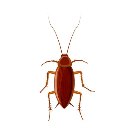 Isoliertes Objekt des Insekten- und Fliegensymbols. Satz Insekten- und Elementvorratsymbol für Web.