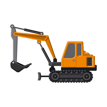 Isolated object of build and construction logo. Set of build and machinery stock symbol for web. Illustration