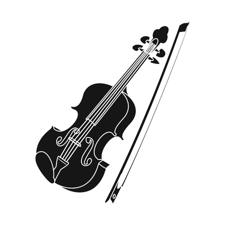 Isolated object of music and tune symbol. Collection of music and tool vector icon for stock. Banque d'images - 115638134