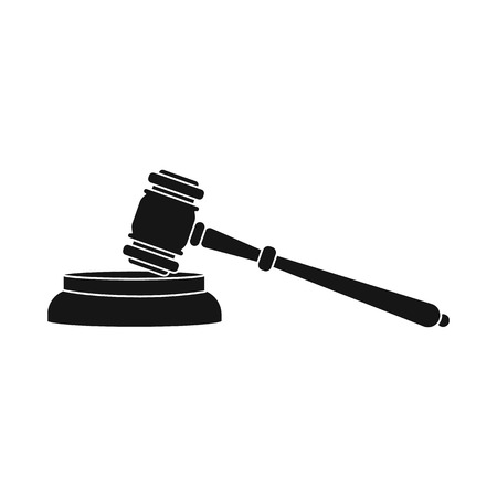 Vector design of law and lawyer icon. Collection of law and justice vector icon for stock. Stock Illustratie