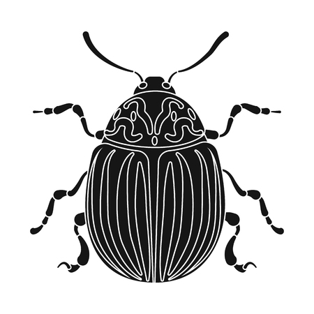 Isolated object of insect and fly logo. Set of insect and element stock symbol for web. Banque d'images - 115706783