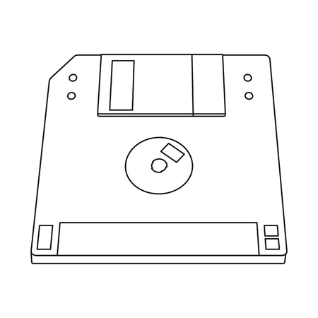 Isolated object of laptop and device sign. Collection of laptop and server vector icon for stock.