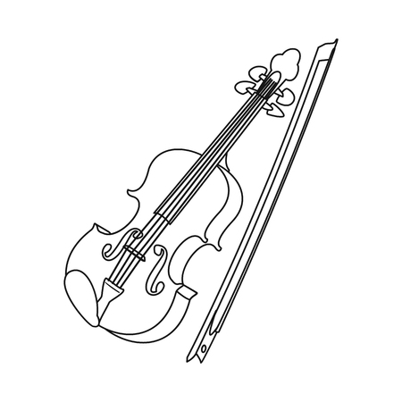 Isolated object of music and tune logo. Collection of music and tool stock symbol for web. Banque d'images - 115708172