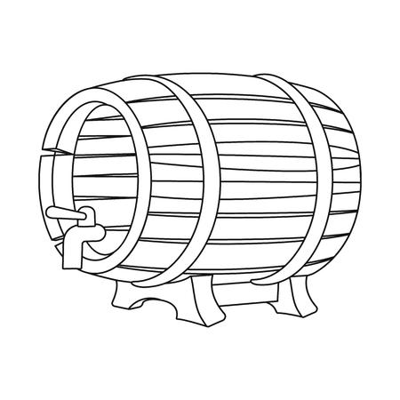 Vector design of pub and bar sign. Set of pub and interior stock symbol for web. Illusztráció